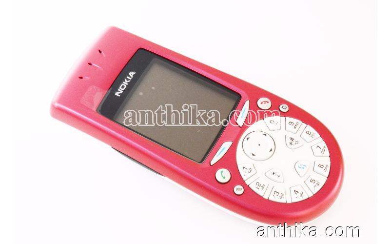 Antika Nokia 3650 Cep Telefonu Swap Kutusunda Red