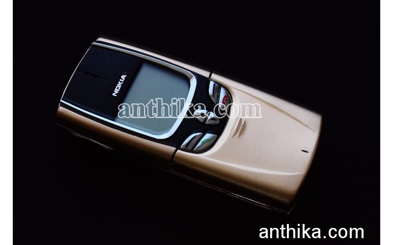 Nokia 8850 Cep Telefonu Gold Sıfır Ayarında